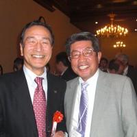 小西公認会計士協会東京会会長と山本副会長