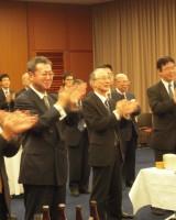 平成24年 新春懇談会、国家試験合格者祝賀会